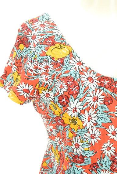 SLY(スライ)の古着「カラフル花柄カットソー(カットソー・プルオーバー)」大画像4へ