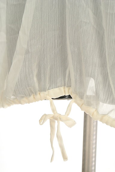 OZOC(オゾック)の古着「ビーズネックシアーカットソー(カットソー・プルオーバー)」大画像5へ