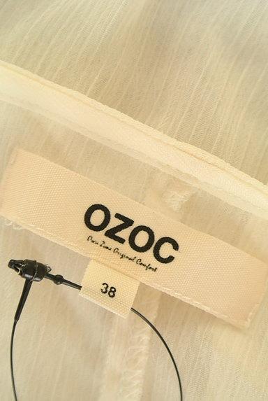 OZOC(オゾック)の古着「ビーズネックシアーカットソー(カットソー・プルオーバー)」大画像6へ