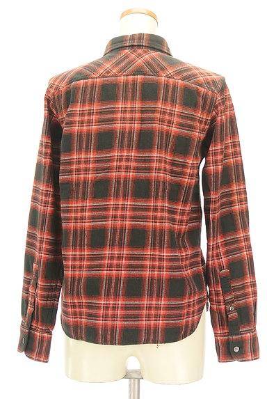 ZUCCa(ズッカ)の古着「刺繍チェック柄カジュアルシャツ(カジュアルシャツ)」大画像2へ