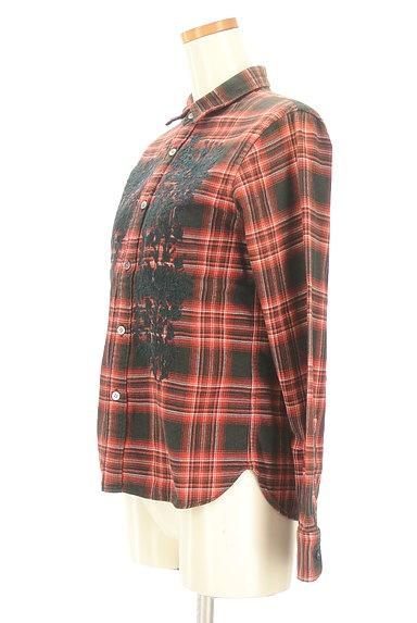 ZUCCa(ズッカ)の古着「刺繍チェック柄カジュアルシャツ(カジュアルシャツ)」大画像3へ