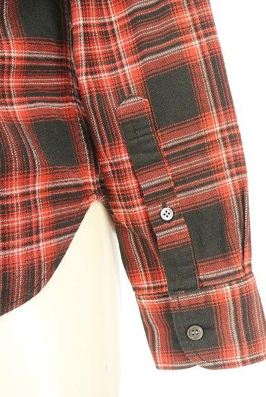 ZUCCa(ズッカ)の古着「刺繍チェック柄カジュアルシャツ(カジュアルシャツ)」大画像5へ
