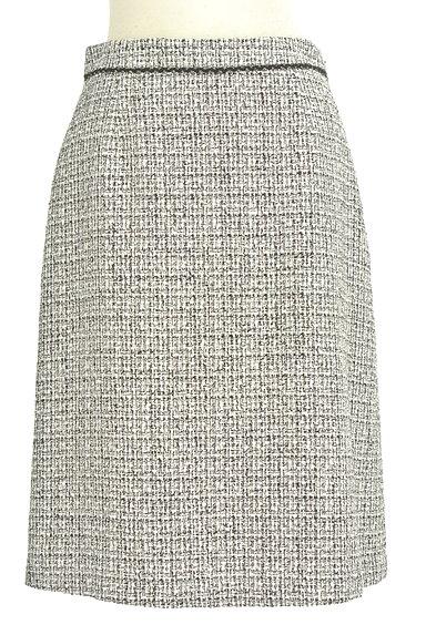 INDIVI(インディヴィ)の古着「ラメ混セミタイトスカート(スカート)」大画像1へ
