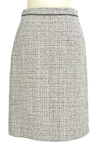 INDIVI(インディヴィ)の古着「ラメ混セミタイトスカート(スカート)」大画像2へ