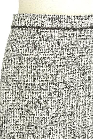 INDIVI(インディヴィ)の古着「ラメ混セミタイトスカート(スカート)」大画像4へ
