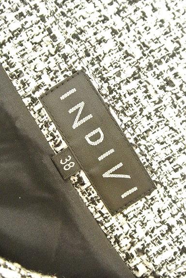 INDIVI(インディヴィ)の古着「ラメ混セミタイトスカート(スカート)」大画像6へ