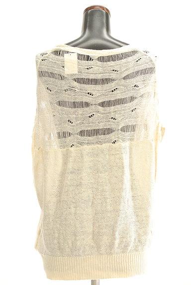 VICKY(ビッキー)の古着「透け編みニットカーディガン(カーディガン・ボレロ)」大画像2へ
