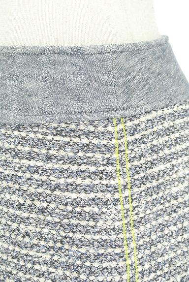VICKY(ビッキー)の古着「フリンジツイードミニスカート(ミニスカート)」大画像4へ