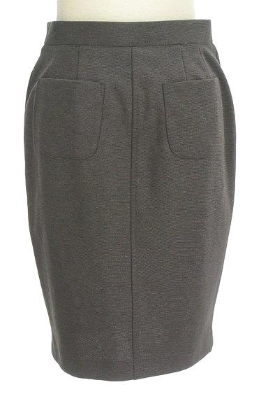 DOUBLE STANDARD CLOTHING(ダブルスタンダードクロージング)の古着「美タイトひざ丈スカート(スカート)」大画像2へ