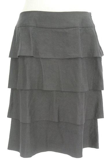 INGEBORG(インゲボルグ)の古着「セミタイトティアードスカート(スカート)」大画像1へ