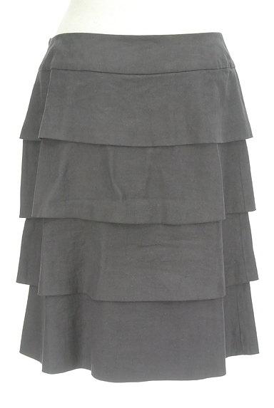 INGEBORG(インゲボルグ)の古着「セミタイトティアードスカート(スカート)」大画像2へ