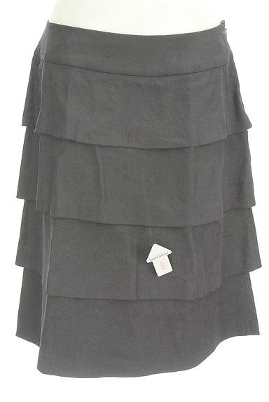 INGEBORG(インゲボルグ)の古着「セミタイトティアードスカート(スカート)」大画像4へ