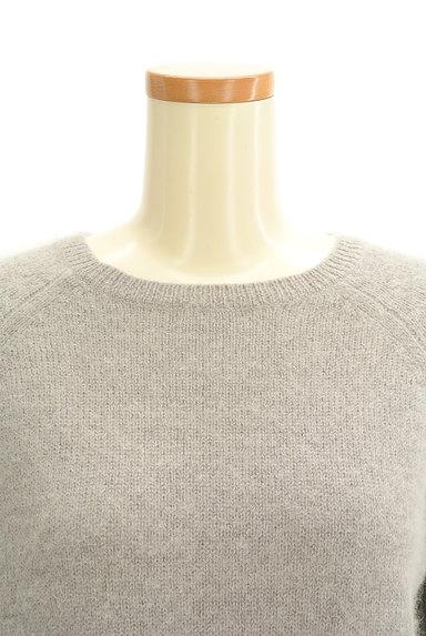 SLOBE IENA(スローブイエナ)の古着「ふわふわ起毛7分袖ニット(ニット)」大画像4へ