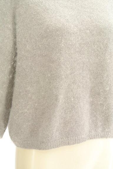 SLOBE IENA(スローブイエナ)の古着「ふわふわ起毛7分袖ニット(ニット)」大画像5へ