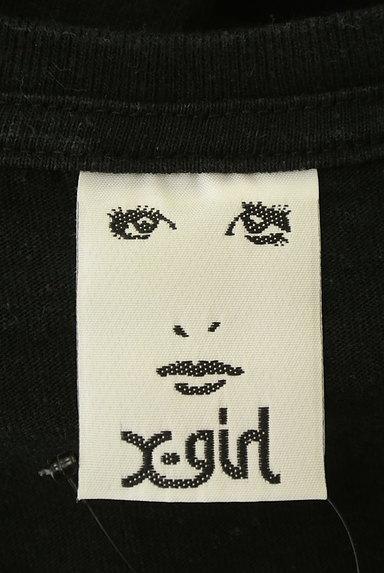 X-girl(エックスガール)の古着「5分袖プリントTシャツワンピ(ワンピース・チュニック)」大画像6へ