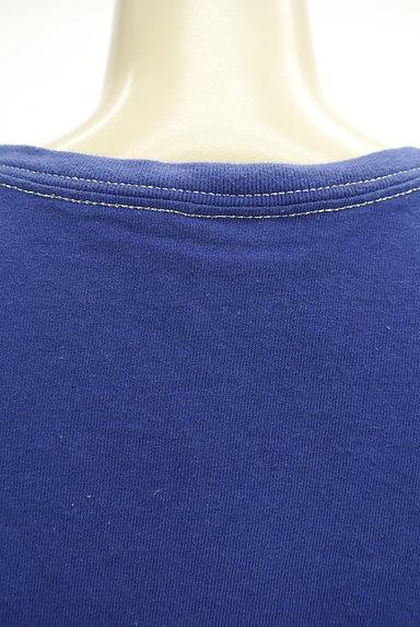 X-girl(エックスガール)の古着「5分袖カラーロングTシャツワンピ(ワンピース・チュニック)」大画像5へ
