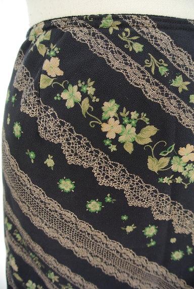 LYON(リヨン)の古着「レース花柄フレアスカート(スカート)」大画像4へ
