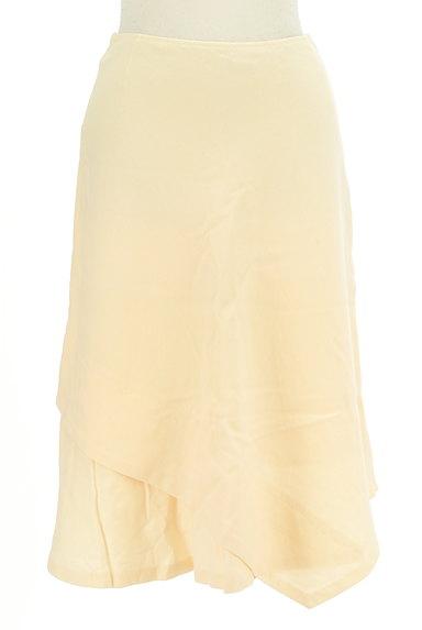 SunaUna(スーナウーナ)の古着「変形ヘム膝丈ウールスカート(スカート)」大画像1へ