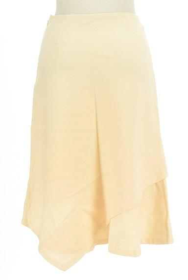 SunaUna(スーナウーナ)の古着「変形ヘム膝丈ウールスカート(スカート)」大画像2へ