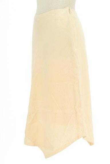 SunaUna(スーナウーナ)の古着「変形ヘム膝丈ウールスカート(スカート)」大画像3へ