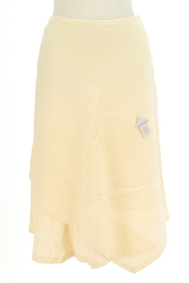 SunaUna(スーナウーナ)の古着「変形ヘム膝丈ウールスカート(スカート)」大画像4へ