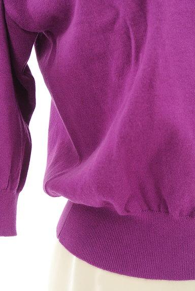 FREE'S MART(フリーズマート)の古着「コンパクト5分袖カラーニット(ニット)」大画像5へ