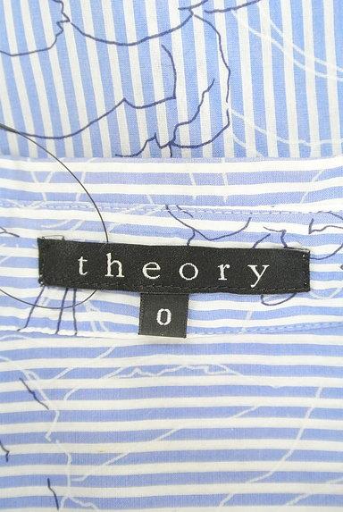 theory(セオリー)の古着「ストライプ×花柄シャツ(カジュアルシャツ)」大画像6へ