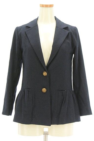 Rouge vif La cle(ルージュヴィフラクレ)の古着「ペプラムフリルジャケット(ジャケット)」大画像1へ