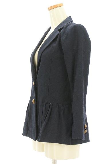 Rouge vif La cle(ルージュヴィフラクレ)の古着「ペプラムフリルジャケット(ジャケット)」大画像3へ