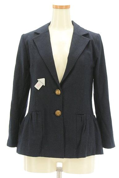Rouge vif La cle(ルージュヴィフラクレ)の古着「ペプラムフリルジャケット(ジャケット)」大画像4へ