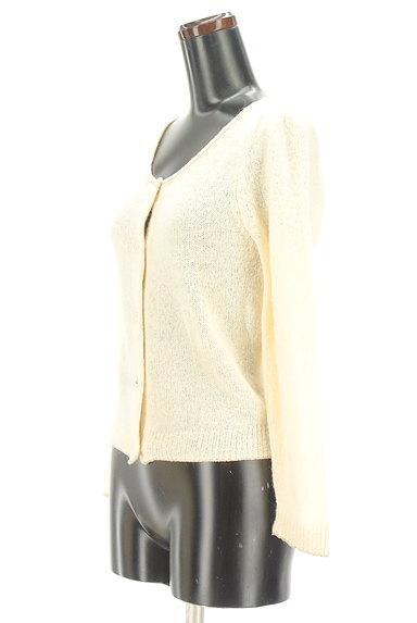 PROPORTION BODY DRESSING(プロポーションボディ ドレッシング)の古着「ゴールドラメラインカーディガン(カーディガン・ボレロ)」大画像3へ