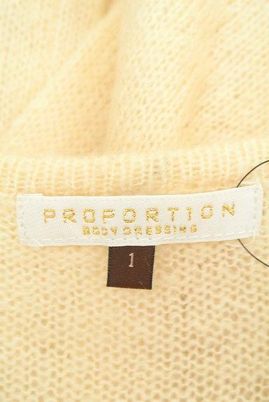 PROPORTION BODY DRESSING(プロポーションボディ ドレッシング)の古着「ゴールドラメラインカーディガン(カーディガン・ボレロ)」大画像6へ