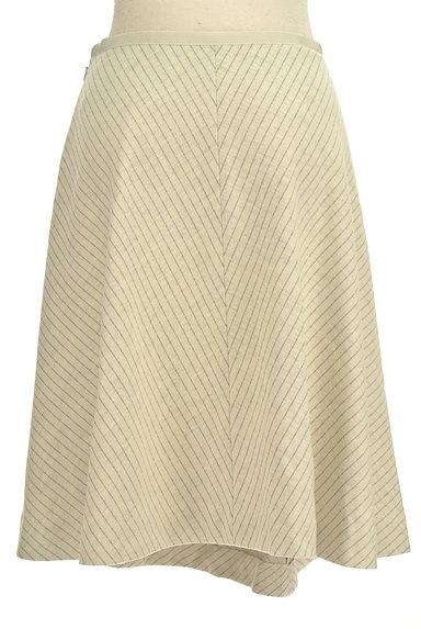 COUP DE CHANCE(クードシャンス)の古着「切替ピンストライプスカート(スカート)」大画像2へ