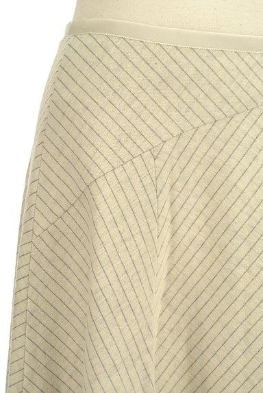 COUP DE CHANCE(クードシャンス)の古着「切替ピンストライプスカート(スカート)」大画像4へ
