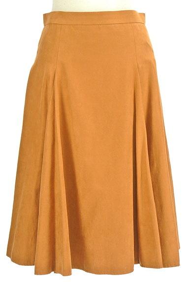 ROPE(ロペ)の古着「スエード風カラーミモレスカート(スカート)」大画像1へ