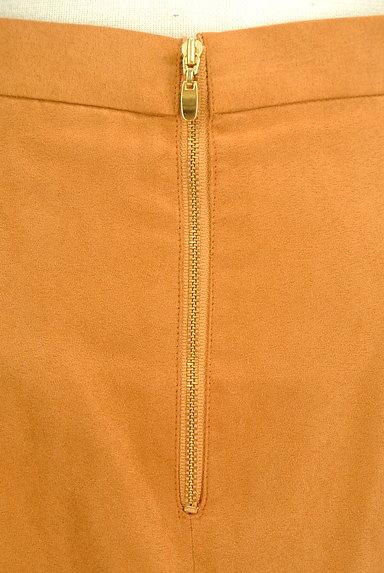 ROPE(ロペ)の古着「スエード風カラーミモレスカート(スカート)」大画像4へ