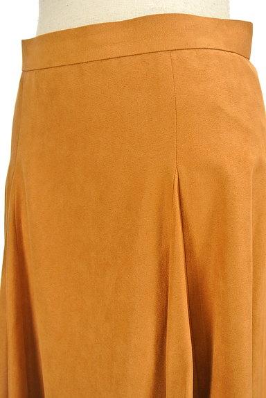 ROPE(ロペ)の古着「スエード風カラーミモレスカート(スカート)」大画像5へ