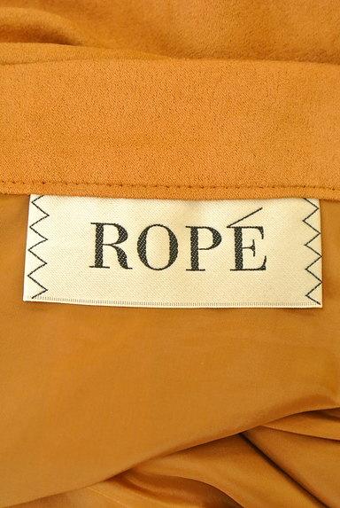 ROPE(ロペ)の古着「スエード風カラーミモレスカート(スカート)」大画像6へ