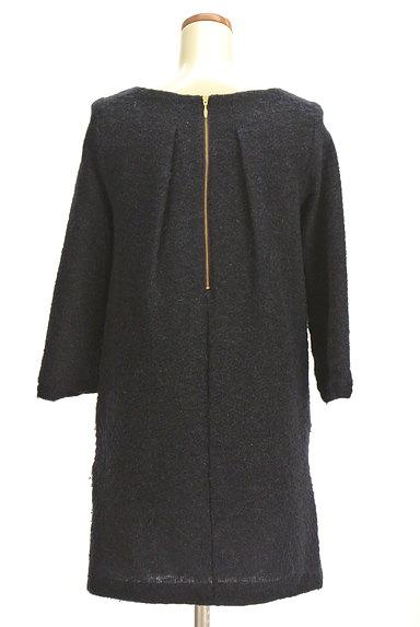 ROPE(ロペ)の古着「ラメ起毛7分袖ワンピース(ワンピース・チュニック)」大画像2へ