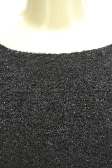 ROPE(ロペ)の古着「ラメ起毛7分袖ワンピース(ワンピース・チュニック)」大画像4へ