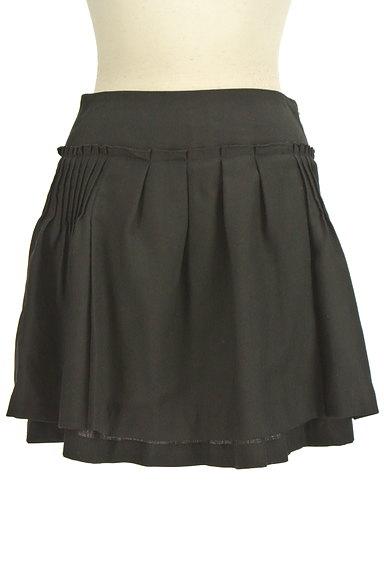 ef-de(エフデ)の古着「タックフレアミニスカート(ミニスカート)」大画像1へ