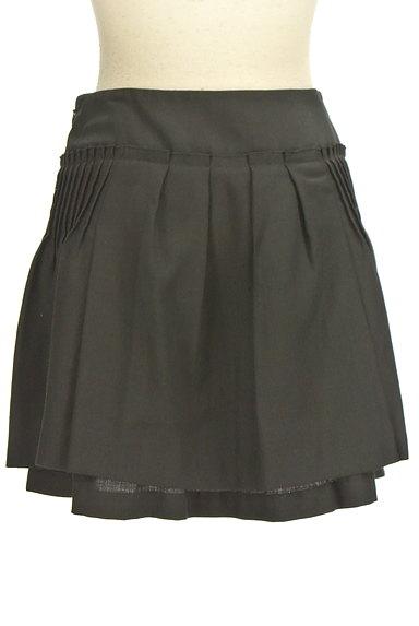 ef-de(エフデ)の古着「タックフレアミニスカート(ミニスカート)」大画像2へ