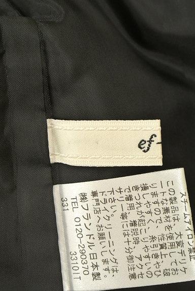 ef-de(エフデ)の古着「タックフレアミニスカート(ミニスカート)」大画像6へ