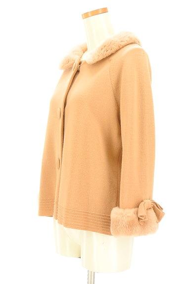 STRAWBERRY-FIELDS(ストロベリーフィールズ)の古着「袖リボンミドル丈コート(コート)」大画像3へ