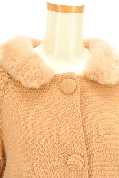 STRAWBERRY-FIELDS(ストロベリーフィールズ)の古着「袖リボンミドル丈コート(コート)」大画像4へ
