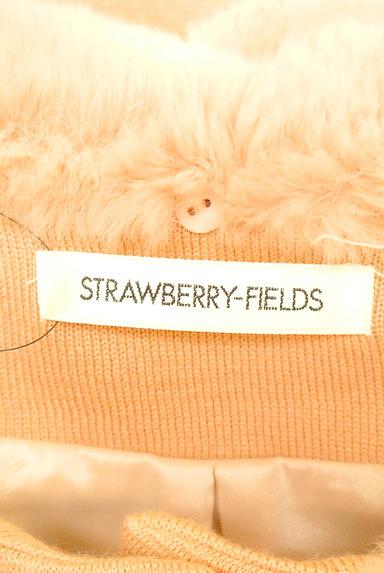 STRAWBERRY-FIELDS(ストロベリーフィールズ)の古着「袖リボンミドル丈コート(コート)」大画像6へ