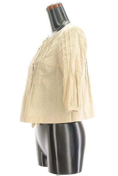 Tiara(ティアラ)の古着「7分袖ノーカラージャケット(ジャケット)」大画像3へ