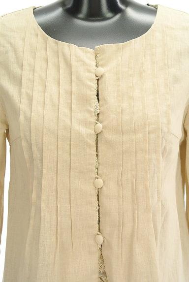 Tiara(ティアラ)の古着「7分袖ノーカラージャケット(ジャケット)」大画像4へ