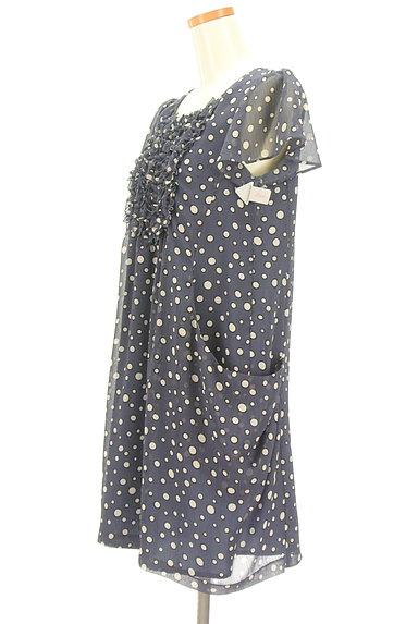 Tiara(ティアラ)の古着「総柄シフォンコクーンワンピ(ワンピース・チュニック)」大画像4へ