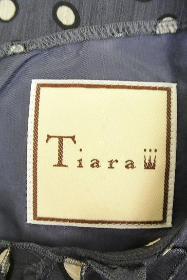 Tiara(ティアラ)の古着「総柄シフォンコクーンワンピ(ワンピース・チュニック)」大画像6へ